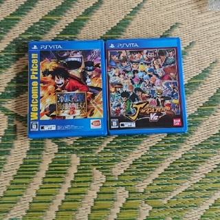 PlayStation Vita - JスターズビクトリーVS 通常版&ワンピース海賊無双3 psvita セットのみ