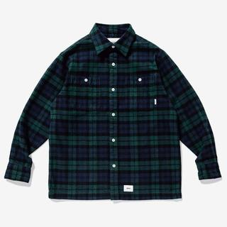 W)taps - WTAPS UNION LS SHIRT 緑 L