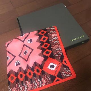 ロンシャン(LONGCHAMP)のLongchamp スカーフ(バンダナ/スカーフ)
