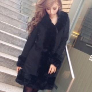 レディー(Rady)のRady☆レッキスファーウールコート(毛皮/ファーコート)