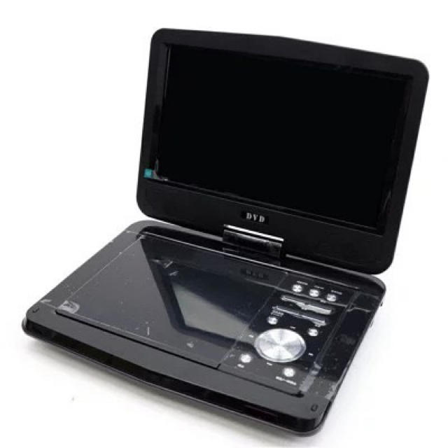 ポータブルDVDプレイヤー 9インチ DVD 持ち運び スマホ/家電/カメラのテレビ/映像機器(DVDプレーヤー)の商品写真
