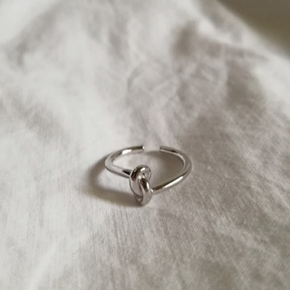 【 New 】925 knot ring *
