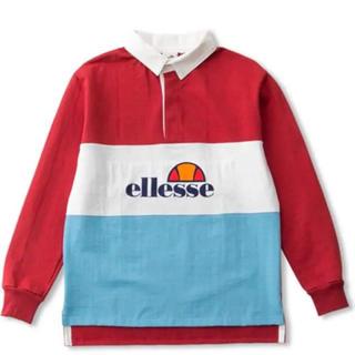 エレッセ(ellesse)のELLESSE(エレッセ) メンズ HERITAGE+ ラガーシャツ(Tシャツ/カットソー(七分/長袖))