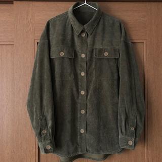 トゥデイフル(TODAYFUL)の【美品】 コーデュロイCPOシャツジャケット(その他)