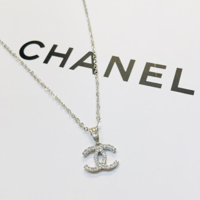 CHANEL(シャネル)のラスト1点★シャネル ラインストーンネックレス ノベルティー  レディースのアクセサリー(ネックレス)の商品写真