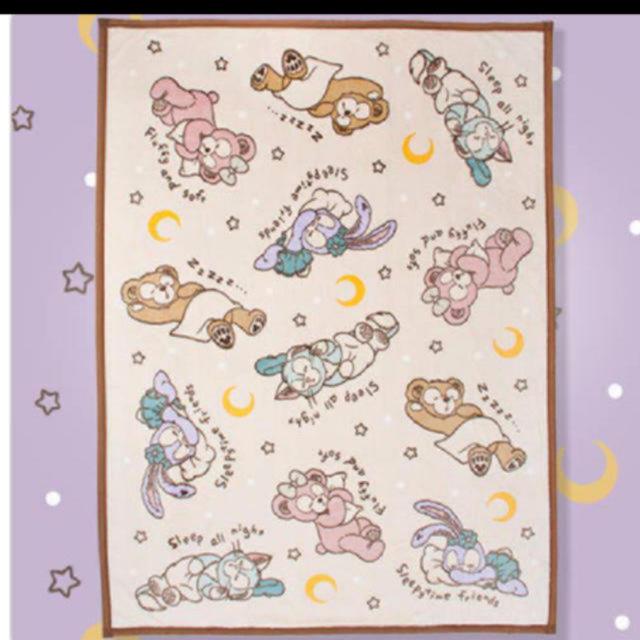 Disney(ディズニー)のディズニー ダッフィー 毛布 エンタメ/ホビーのおもちゃ/ぬいぐるみ(キャラクターグッズ)の商品写真