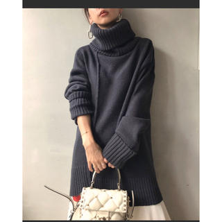Ameri VINTAGE - AMERI vintage☆ TURN DOWN TURTLE KNIT