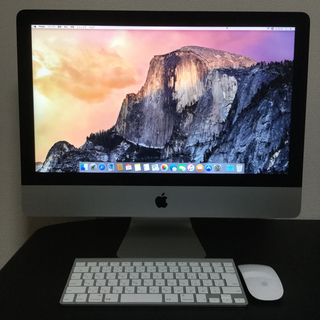 アップル(Apple)の使用頻度極少!! Apple iMac2013 21.5inch(デスクトップ型PC)