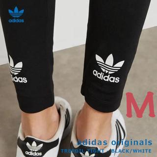 adidas - アディダスオリジナルス レギンス アディカラー トレフォイル ロゴ ブラック M