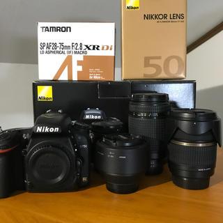 Nikon - Nikon d750 標準、望遠、単焦点レンズセット