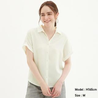 GU - GU エアリーシャツ(半袖)