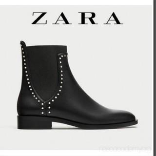 ZARA - 未使用!タグつきです。ZARA ショートブーツ