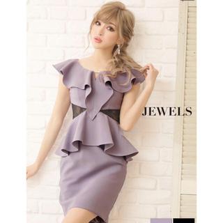 ジュエルズ(JEWELS)の【SALE】パール 付き ミニドレス Jewels(ミニドレス)