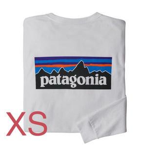 patagonia - patagonia ロングスリーブ p-6ロゴ レスポンシビリティ
