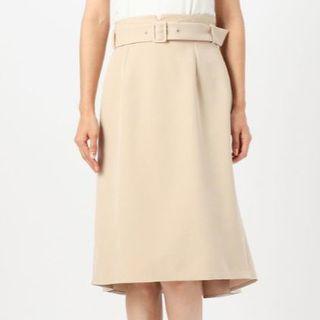 MISCH MASCH - 【新品タグ付き】ミューズ 後ろ姿が可愛いタイトスカート ベージュ