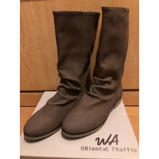 オリエンタルトラフィック(ORiental TRaffic)の♡新品美品♡オリエンタルトラフィック 2wayミドルブーツ(ブーツ)