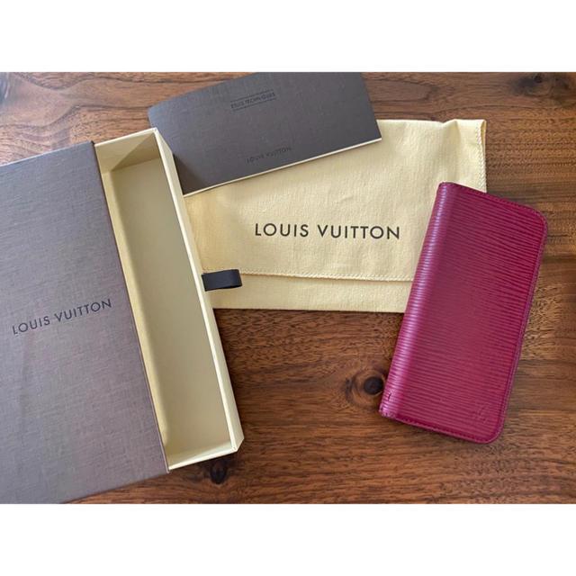 LOUIS VUITTON - 大特価☆1点限定☆高級感【ルイ・ヴィトン】エピ iPhoneケース 6.6sの通販