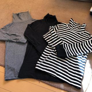 ニシマツヤ(西松屋)の防寒対策!タートルネック キッズ(Tシャツ/カットソー)