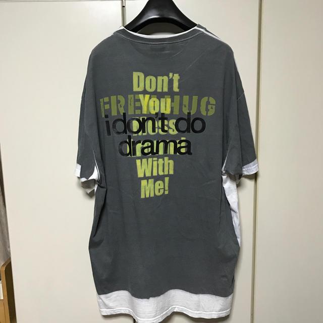 Balenciaga(バレンシアガ)の登坂着用 vetements  ヴェトモン GENERATION ALPHA   メンズのトップス(Tシャツ/カットソー(半袖/袖なし))の商品写真