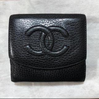 CHANEL - CHANEL 二つ折り財布