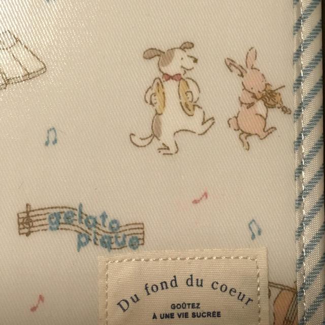 gelato pique(ジェラートピケ)のジェラートピケ アニマルオーケストラ母子手帳ケース BLU   キッズ/ベビー/マタニティのマタニティ(母子手帳ケース)の商品写真