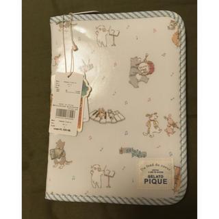 gelato pique - ジェラートピケ アニマルオーケストラ母子手帳ケース BLU