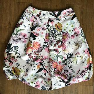 M'S GRACY - エムズグレーシー 花柄 バルーンスカート 40サイズ 美品