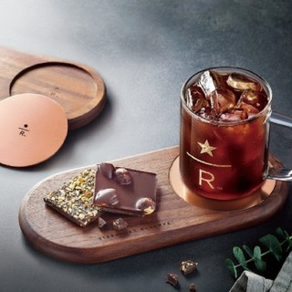 Starbucks Coffee - 韓国 スタバ スターバックス リザーブ ウッドトレイ アルミコースター セット