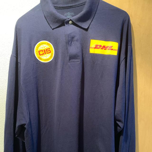 Supreme(シュプリーム)のDHL 長袖ポロシャツ  企業ロゴ メンズのトップス(ポロシャツ)の商品写真