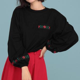 ジュエティ(jouetie)のjouetie チロリアン刺繍T(Tシャツ(長袖/七分))