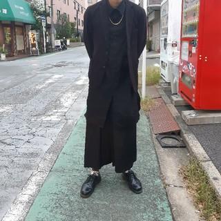 Yohji Yamamoto - COMME des GARCONS ウールギャバワイドパンツ