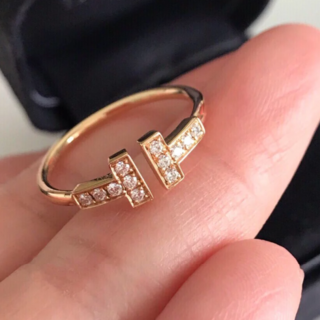 Tiffany & Co. - Tiffany & Co ティファニーTワイヤーリング