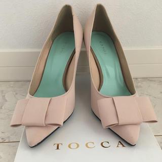 トッカ(TOCCA)のトッカTOCCA*リボンパンプス(ハイヒール/パンプス)