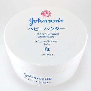 Johnson's - ジョンソン ベビーパウダー プラスチック容器 140g