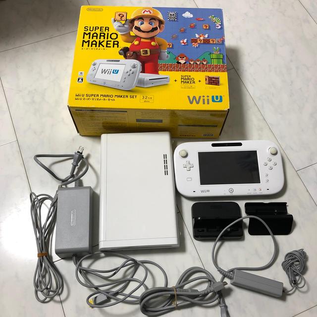 Wii U(ウィーユー)のWii U スーパーマリオメーカー セット エンタメ/ホビーのゲームソフト/ゲーム機本体(家庭用ゲーム機本体)の商品写真