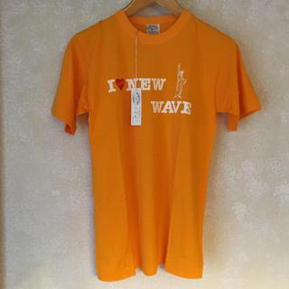 ズーム(Zoom)のタグ付き 新品未使用!メンズ レディース ロゴ入り プリントTシャツ イエロー(Tシャツ/カットソー(半袖/袖なし))