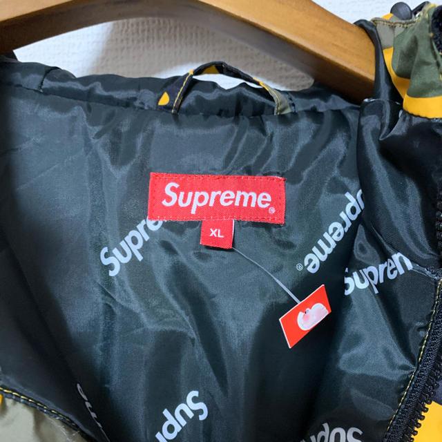 Supreme(シュプリーム)の新品未使用 XL Hooded logo half zip pullover  メンズのジャケット/アウター(マウンテンパーカー)の商品写真