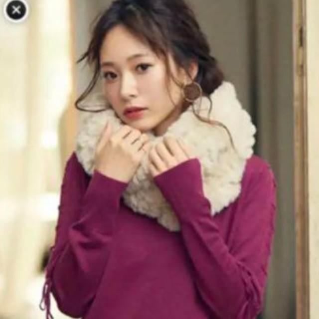 Cherie Mona(シェリーモナ)のシェリーモナ ファーマフラー レディースのファッション小物(マフラー/ショール)の商品写真