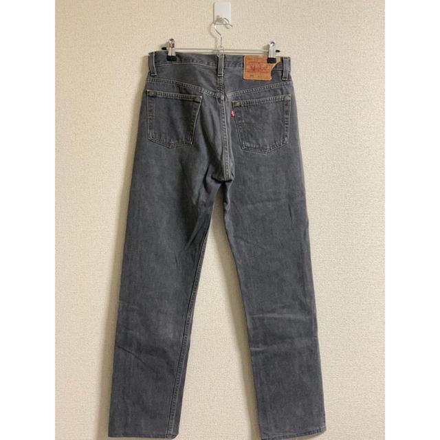 Levi's(リーバイス)のLEVI'S ブラックデニム 90s アメリカ製 メンズのパンツ(デニム/ジーンズ)の商品写真