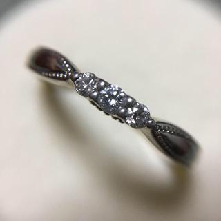エクセルコ pt900 ダイヤモンド リング 10.5号(リング(指輪))