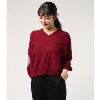 iliann loeb - 新品、未使用 バーニーズニューヨーク×ilann loeb Vネックセーター