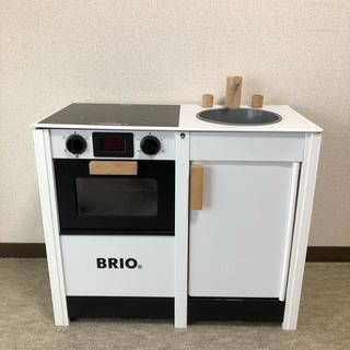 ブリオ(BRIO)のBRIOキッチンストーブ&シンク おままごと(知育玩具)