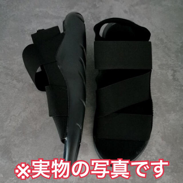 【新品*送料無料】夏大活躍 スポーツサンダル ブラック 履きやすい 男女兼用◎ メンズの靴/シューズ(サンダル)の商品写真