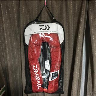 ダイワ(DAIWA)のダイワ ライフジャケット DF-2005 赤(マリン/スイミング)
