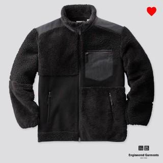 UNIQLO - エンジニアドガーメンツコラボ コンビネーションフリースジャケット