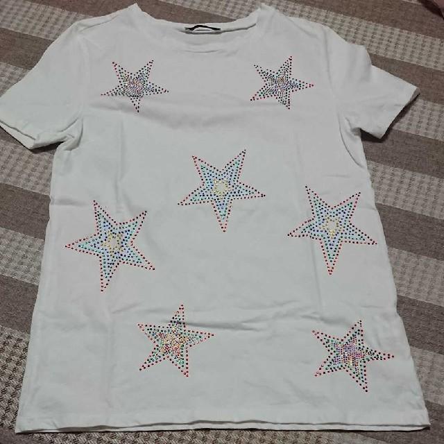 ZARA(ザラ)の美品❤️ZARA♥️Tシャツ レディースのトップス(Tシャツ(半袖/袖なし))の商品写真