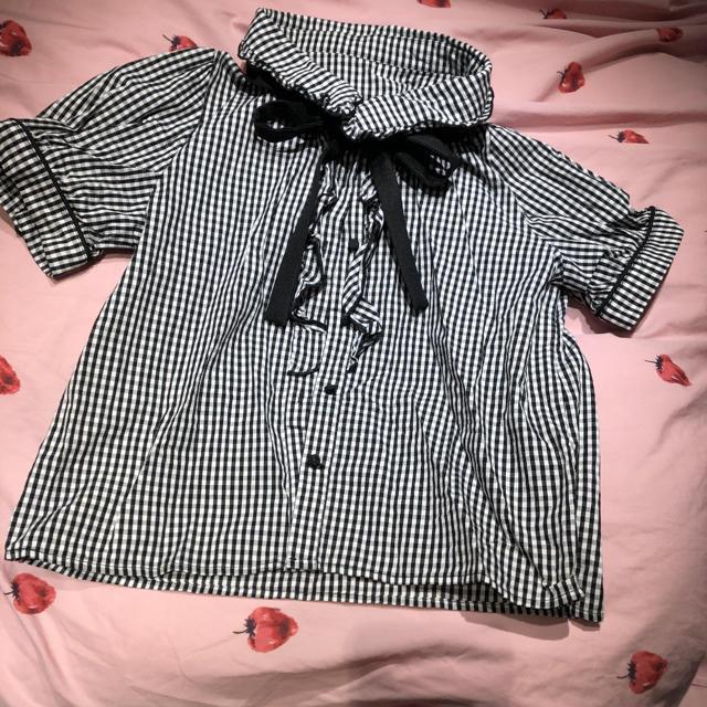 evelyn(エブリン)のevelyn ブラウス レディースのトップス(シャツ/ブラウス(半袖/袖なし))の商品写真