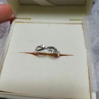 ダイヤモンド K18WG リング(リング(指輪))