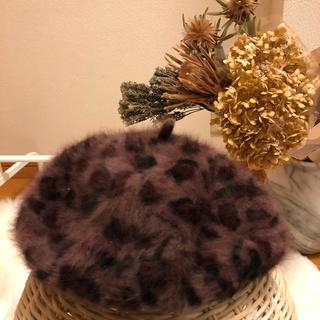 casiTA - レオパード柄ベレー帽