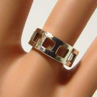 グッチ(Gucci)のグッチ スクエア シルバー925 指輪 リング 12号(リング(指輪))